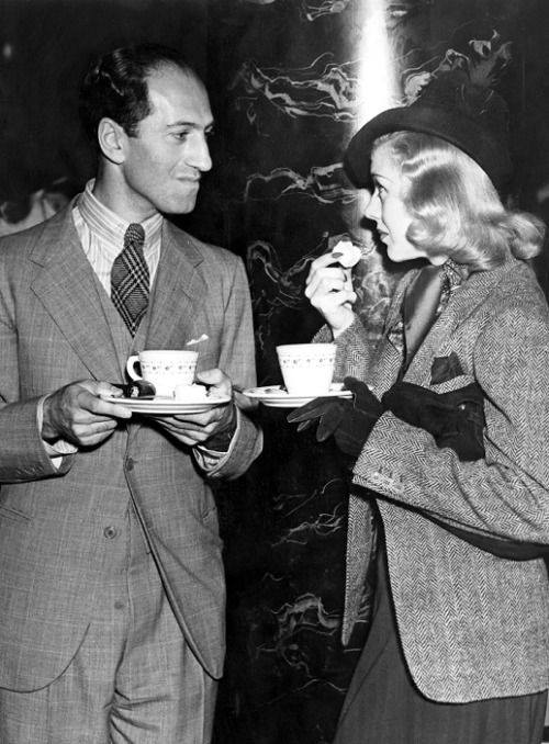 George Gershwin and Ginger Rogers