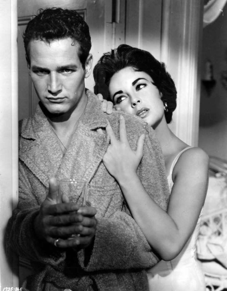 Paul Newman and Elizabeth Taylor