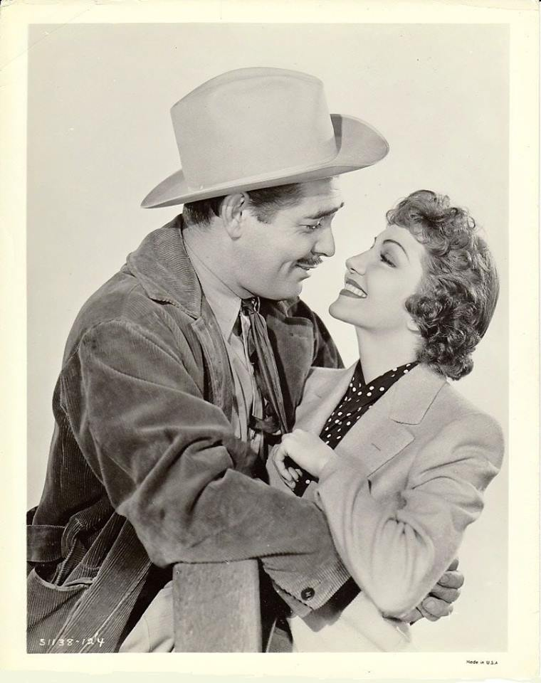Clark Gable & Claudette Colbert - Boom Town, 1940