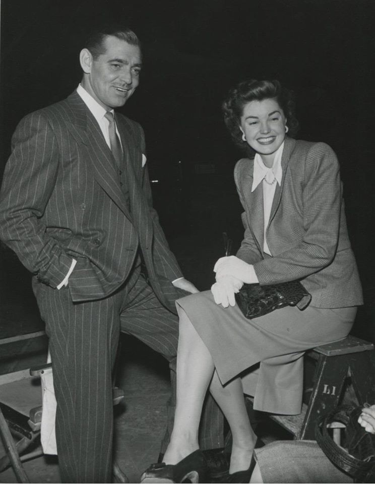 Esther Williams with  Clark Gable