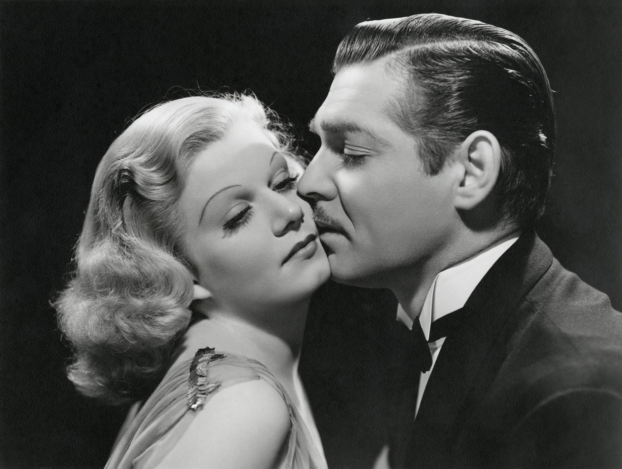 Saratoga, 1937 - Clark Gable & Jean Harlow  Jean Harlow's last film before her death.