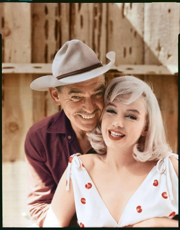 Clark Gable & Marilyn Monroe - The Misfits, 1961
