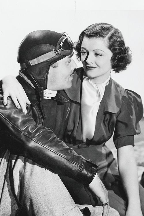 Clark Gable & Myrna Loy