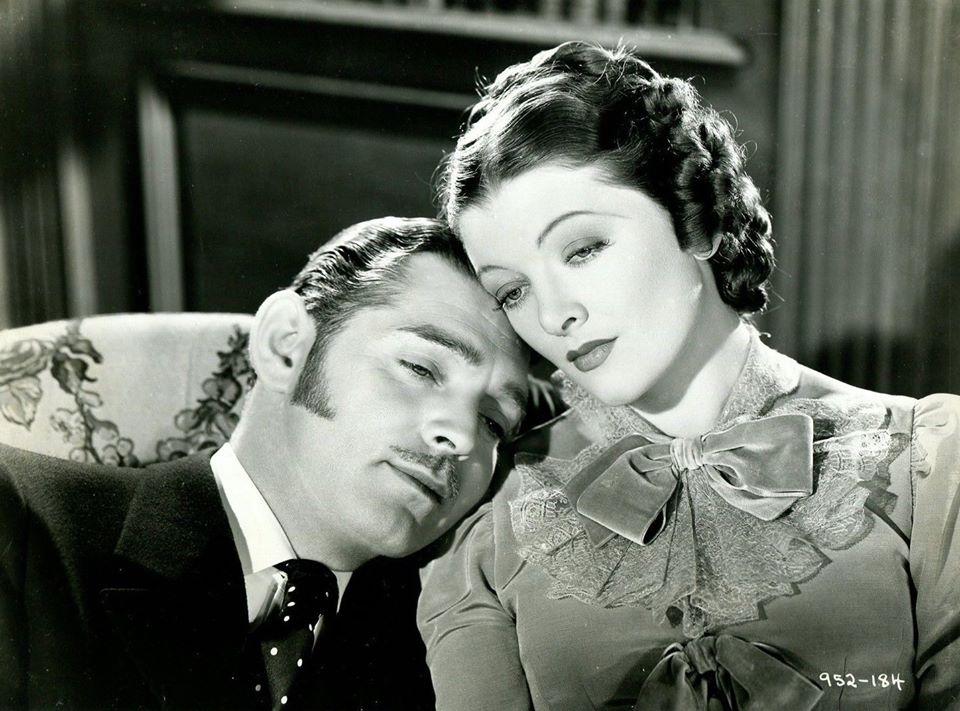 Clark Gable & Myrna Loy - Parnell, 1937