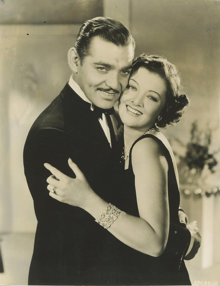 Clark Gable & Myrna Loy - Wife vs. Secretary, 1936