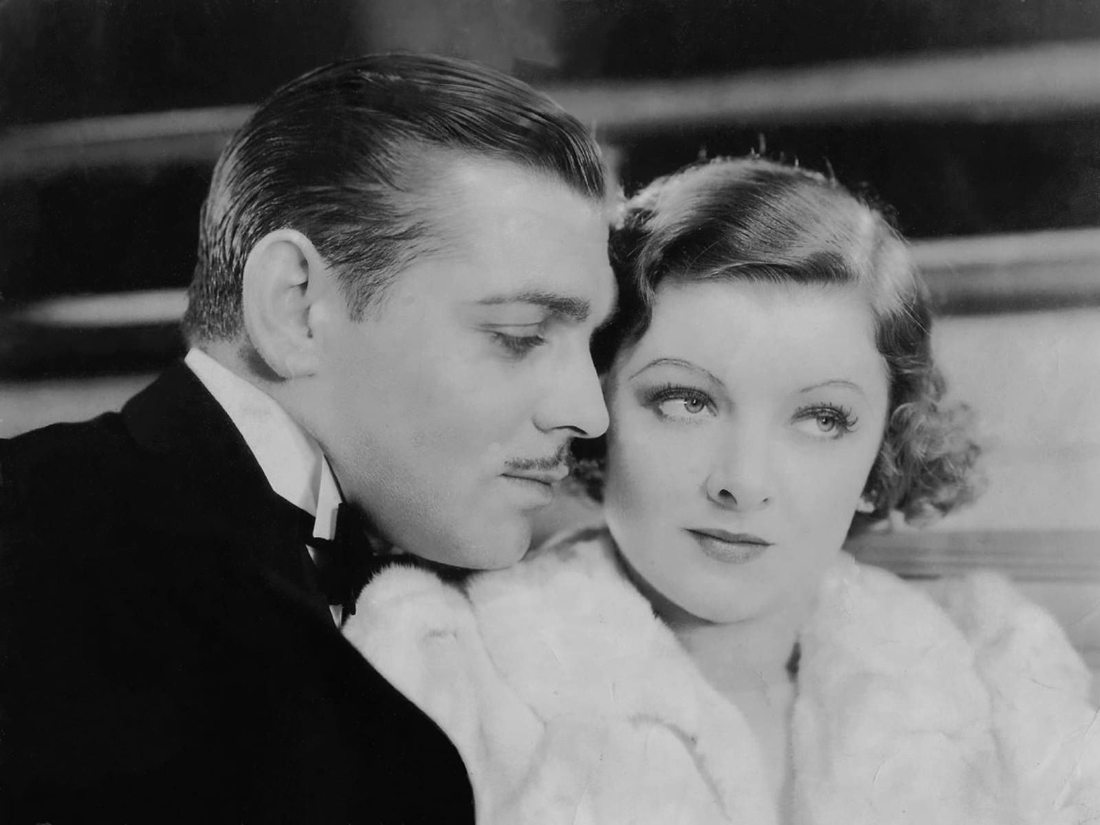 Gable & his leading Ladies Myrna Loy Manhattan Melodrama, 1934