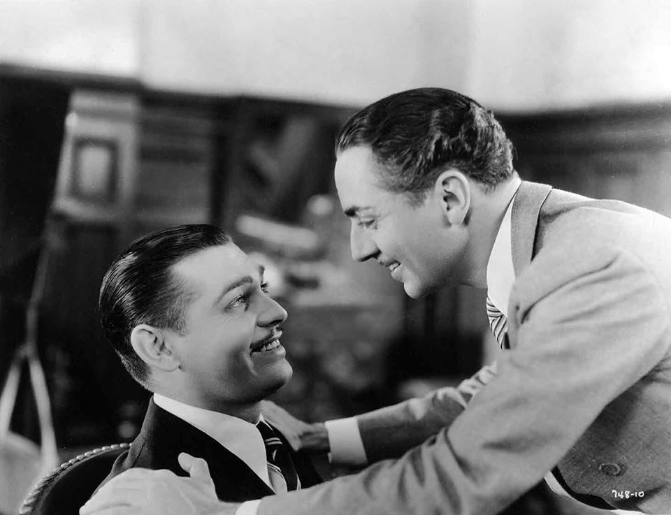 Clark Gable & William Powell - Manhattan Melodrama, 1934