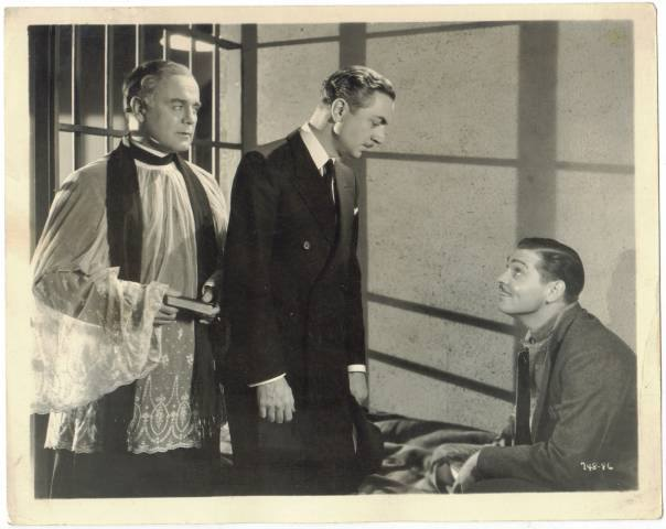 Leo Carrillo, William Powell & Clark Gable - Manhattan Melodrama, 1934