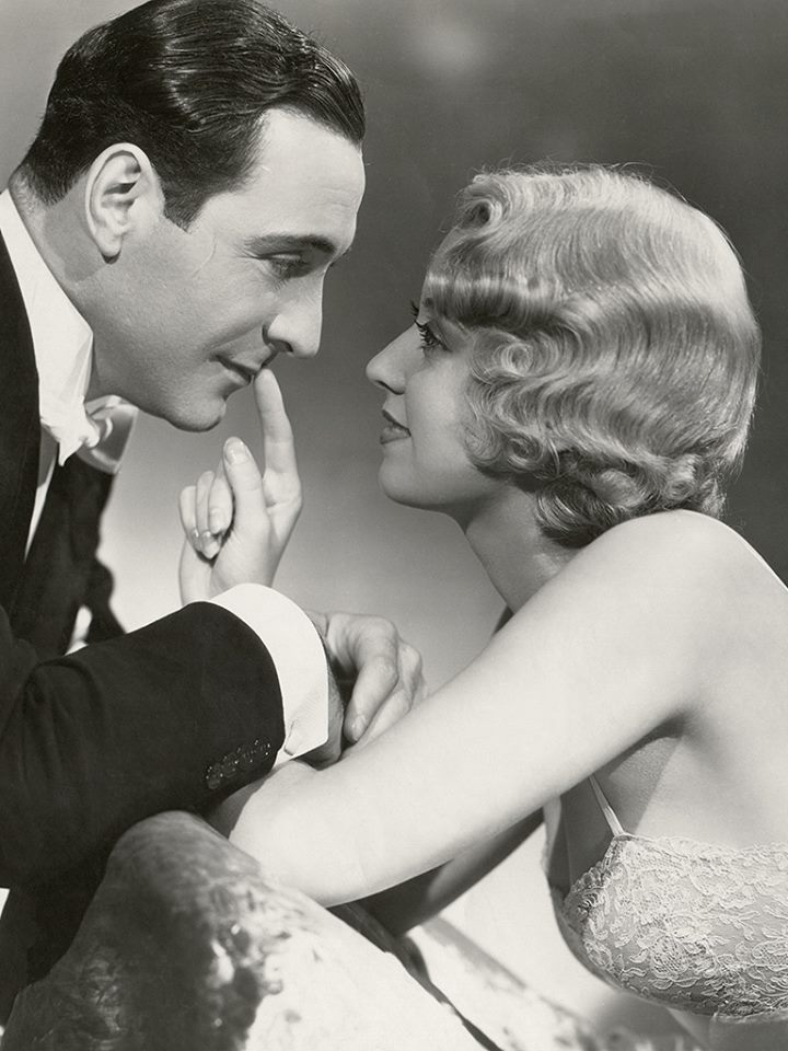 Ricardo Cortez and Joan Blondell in Broadway Bad (1933)