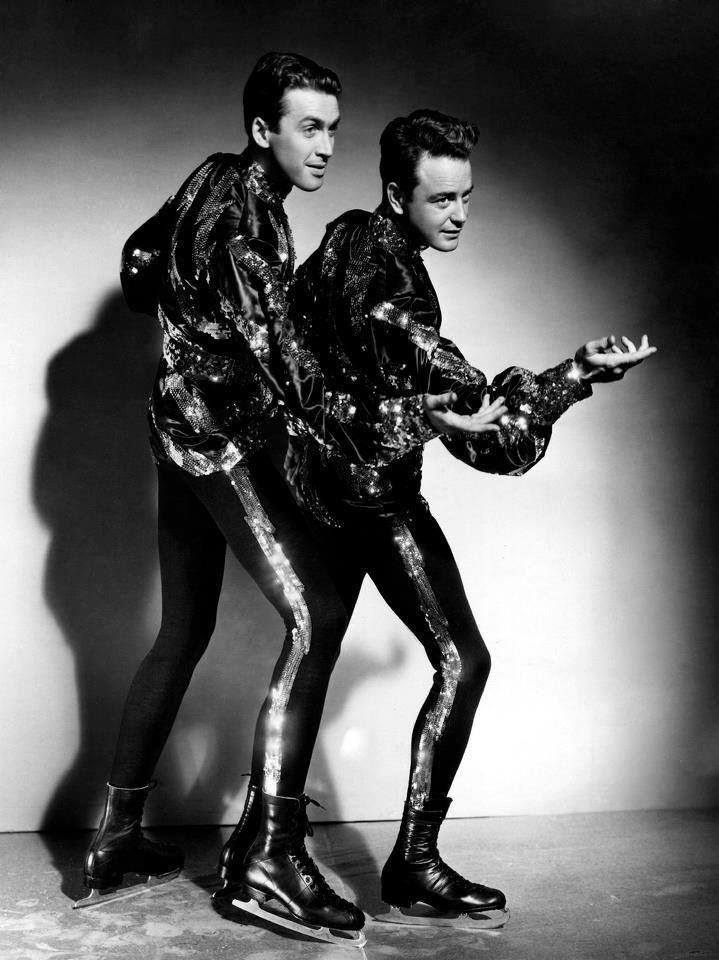 James Stewart and Lew Ayres