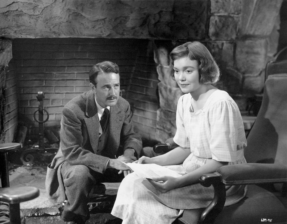 Lew Ayres & Jane Wyman - Johnny Belinda, 1948