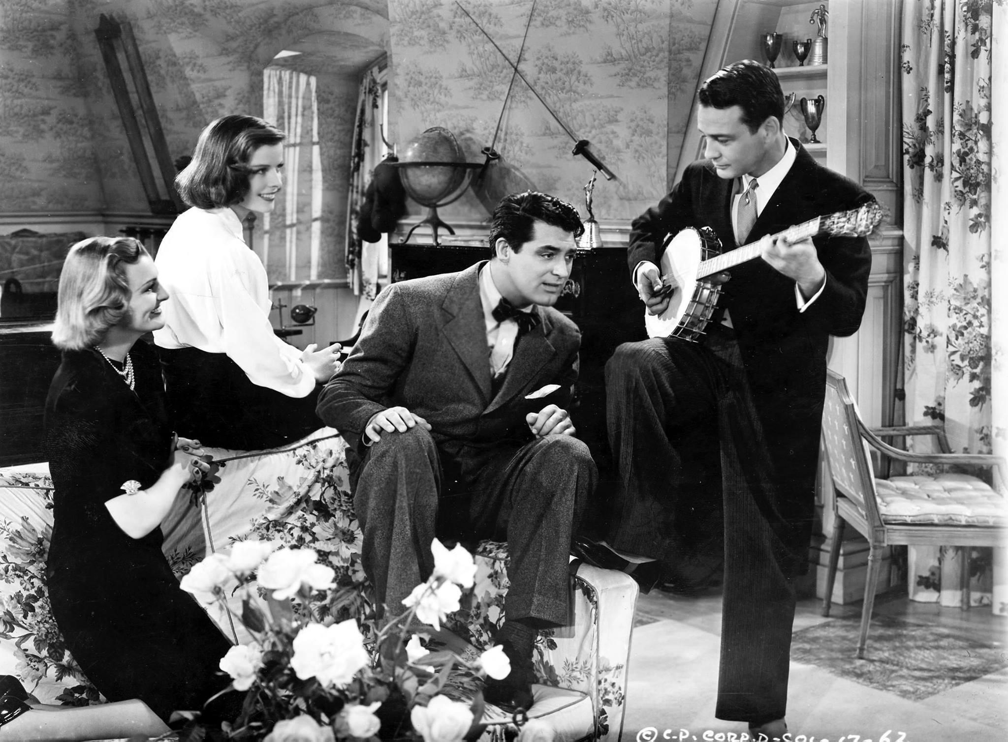 Doris Nolan, Katharine Hepburn, Cary Grant & Lew Ayres-Holiday, 1938