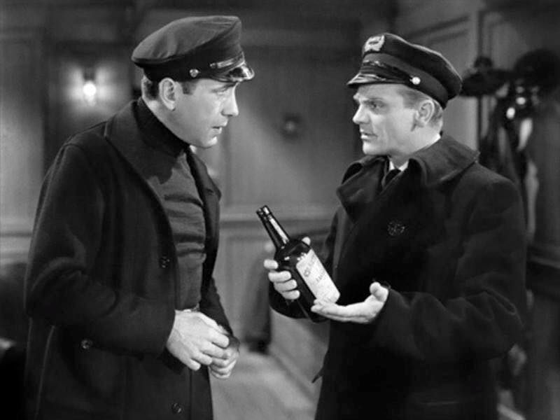 Jimmy Cagney and Humphrey Bogart