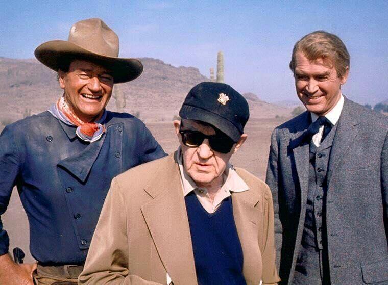 John Wayne & John Ford & James Stewart