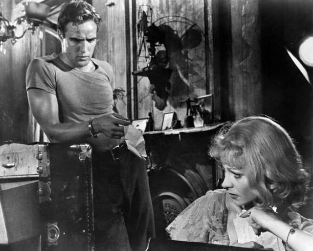 Marlon Brando and Vivian Leigh