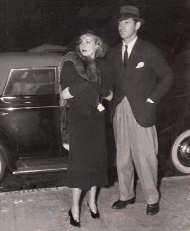 Clark Gable and Carole Lombard, 1936
