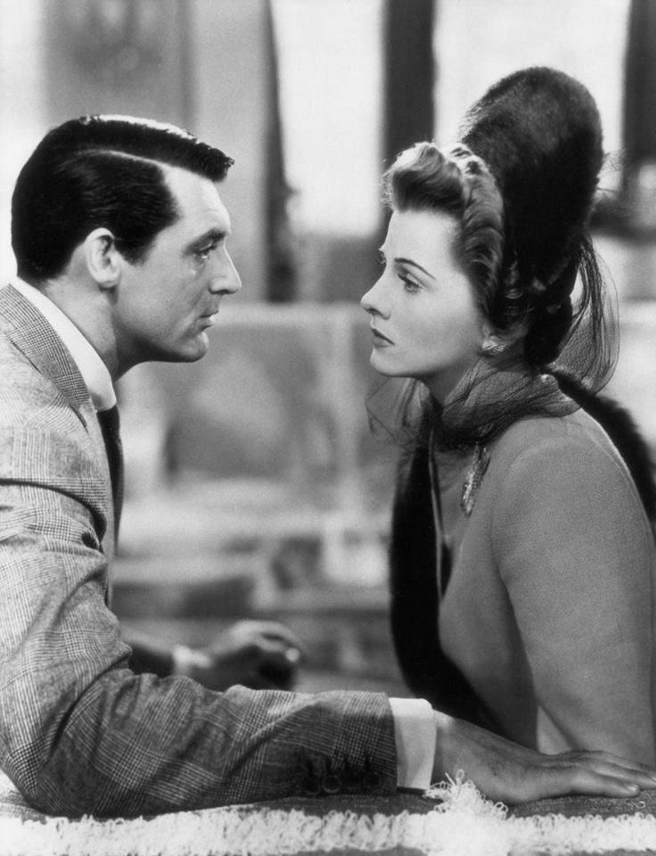 Cary Grant & Joan Fontaine -Suspicion(1941).