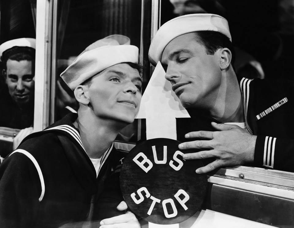 Frank Sinatra with  Grace Kelly