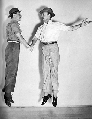 Gene Kelly with Fred Astaire