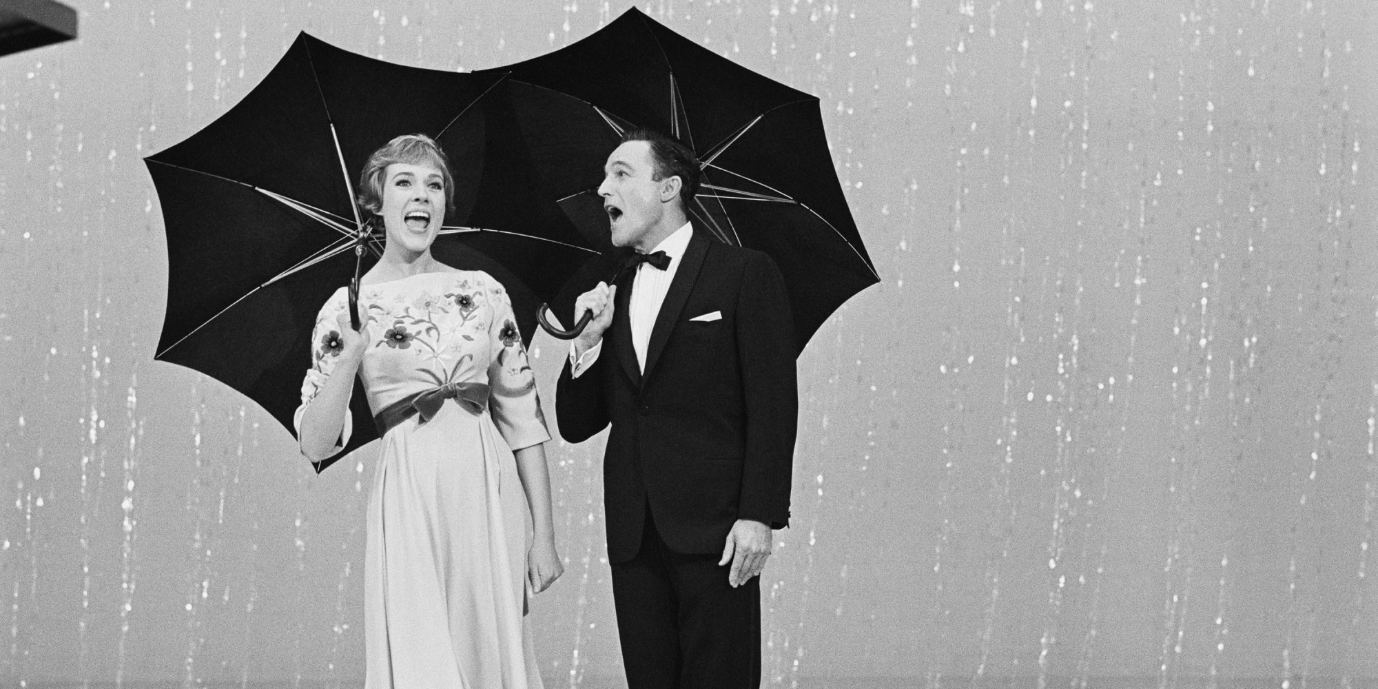 Gene Kelly and Julie Andrews