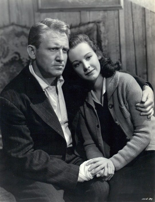 Spencer Tracy & Signe Hasso
