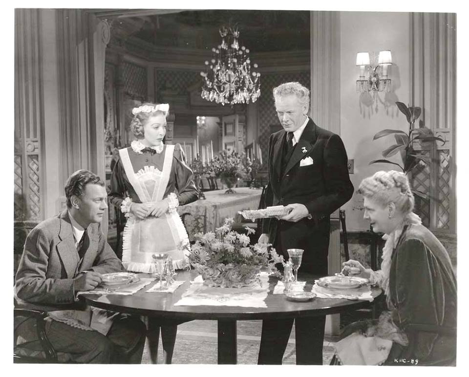 Joseph Cotten, Loretta Young, Charles Bickford & Ethel Barrymore - The Farmer's Daughter, 1947