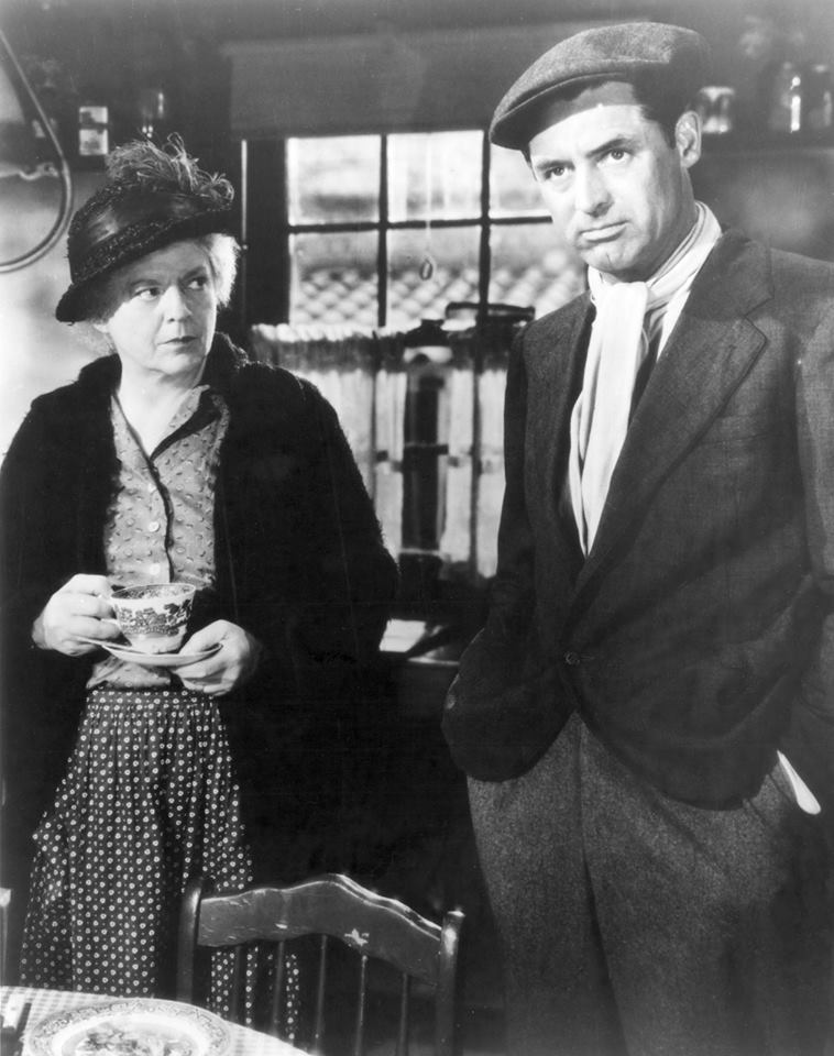 Cary Grant & Ethel Barrymore - None but the Lonely Heart, 1944