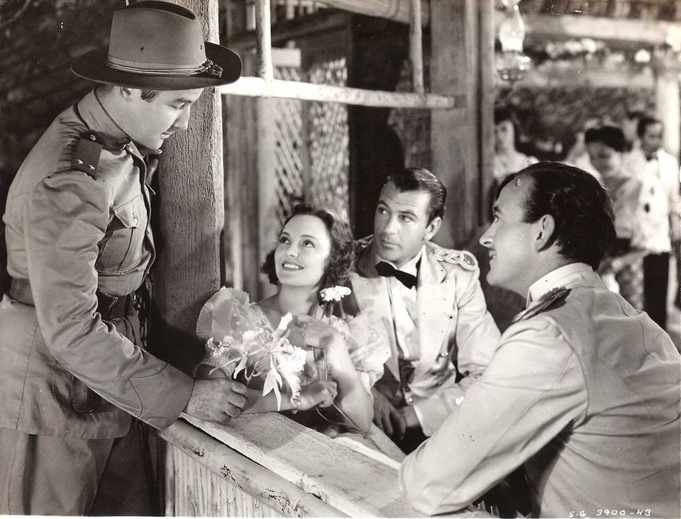 The Real Glory, 1939 - Broderick Crawford, Andrea Leeds, Gary Cooper & David Niven