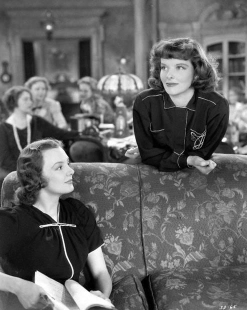 Stage Door, 1937 - Andrea Leeds & Katharine Hepburn