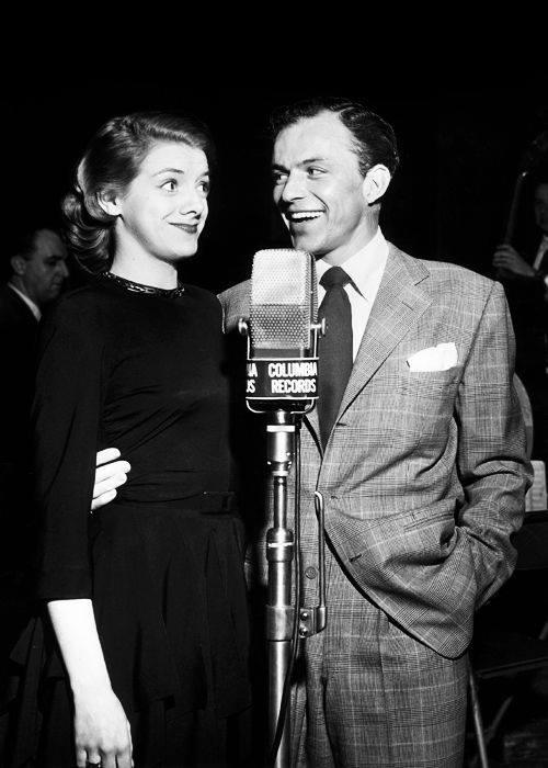 Frank Sinatra & Rosemary Clooney in 1950