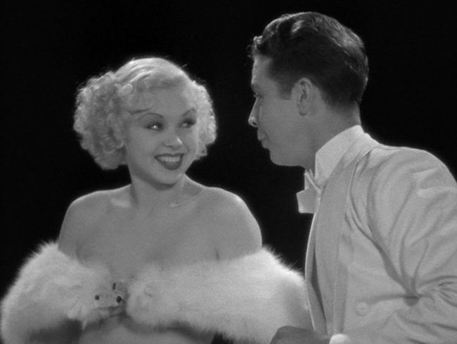 Dick Powell and Toby Wing