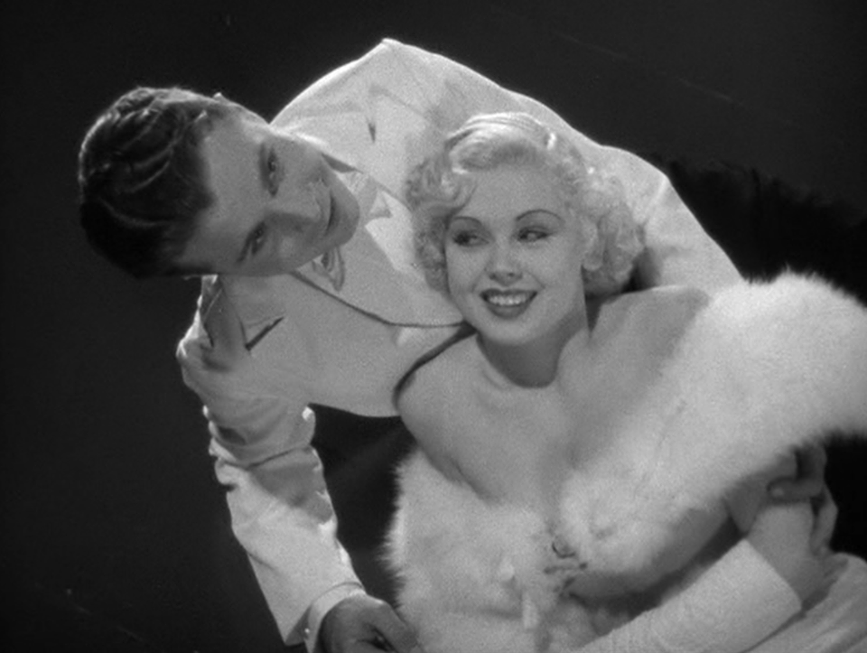 Dick Powell and Toby Wing in 42nd Street