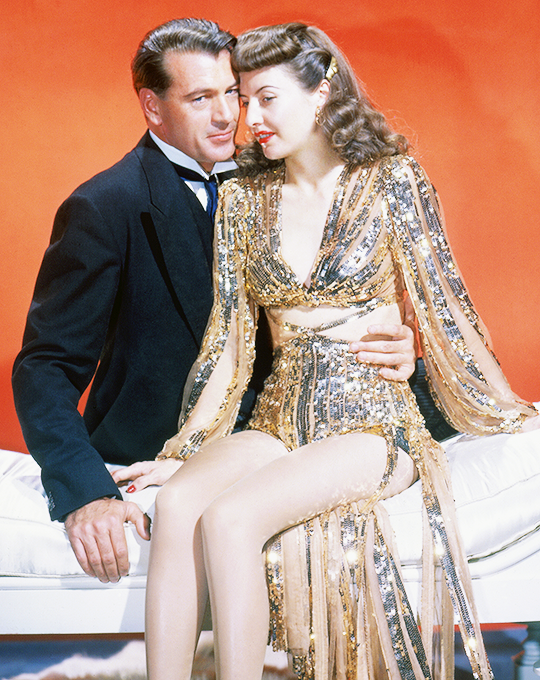 Gary Cooper & Barbara Stanwyck -Ball of Fire(1941).