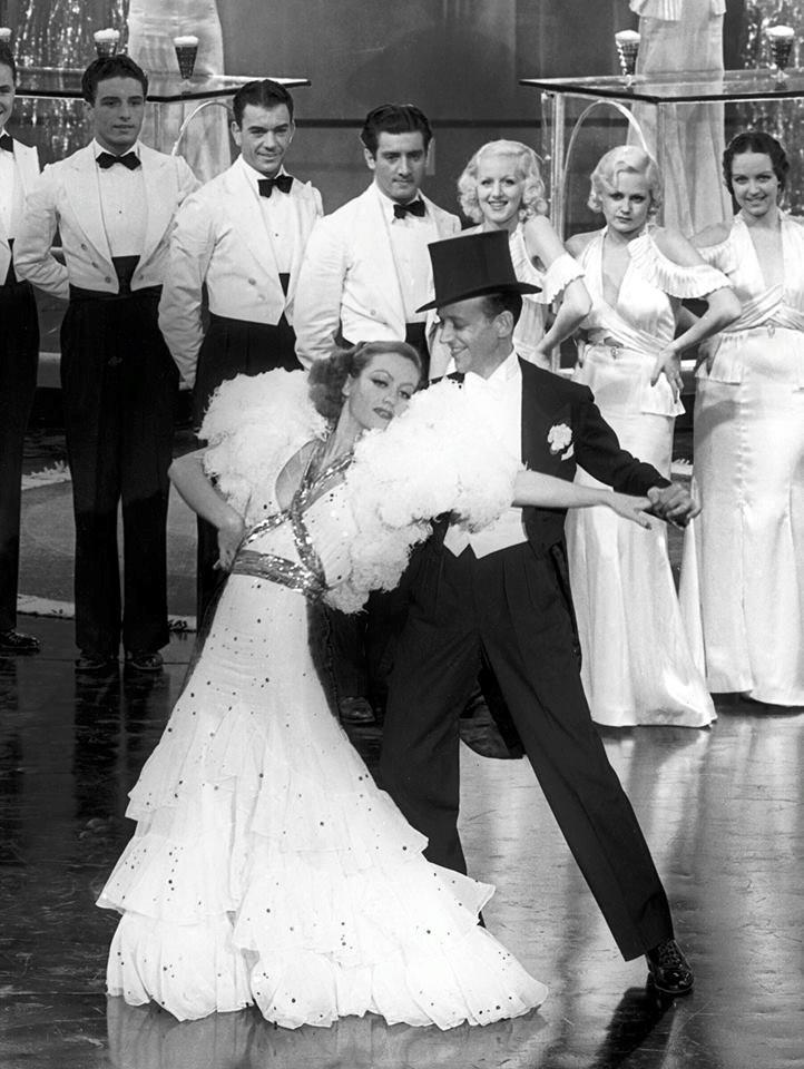Joan Crawford & Fred Astaire -Dancing Lady(1933).