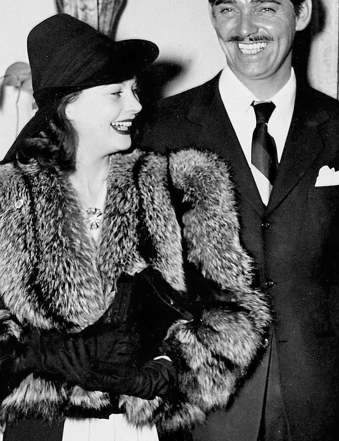 Vivien Leigh & Clark Gable -1939.