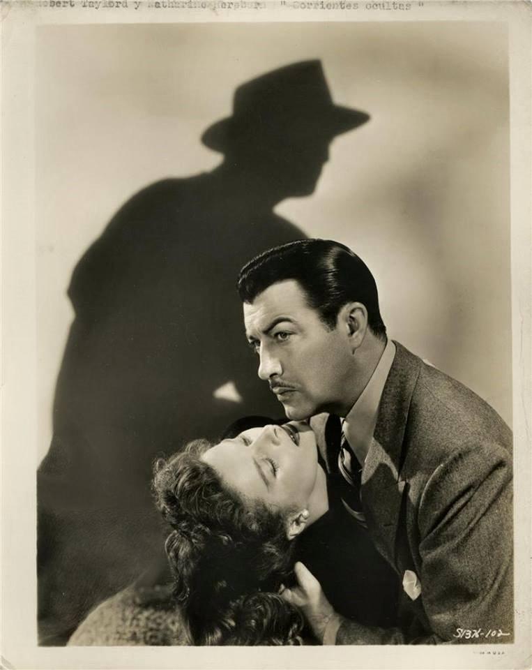 Katharine Hepburn & Robert Taylor -Undercurrent(1946).