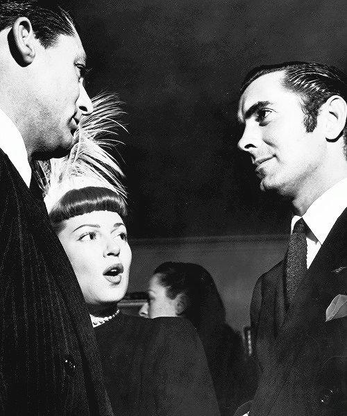 Cary Grant,Lana Turner & Tyrone Power -1945