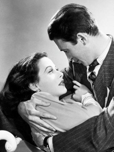 Hedy Lamarr & James Stewart -Come Live With Me(1941).