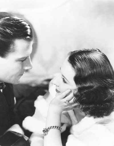Joel McCrea & Barbara Stanwyck -Gambling Lady(1934).