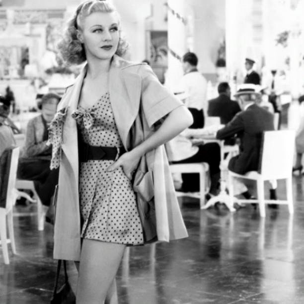 Ginger Rogers -Carefree(1938).