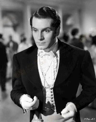 Sir Laurence Olivier -Pride and Prejudice(1940).