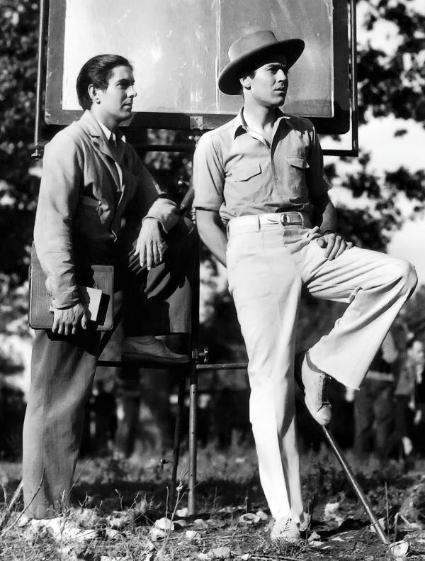 Tyrone Power & Henry Fonda