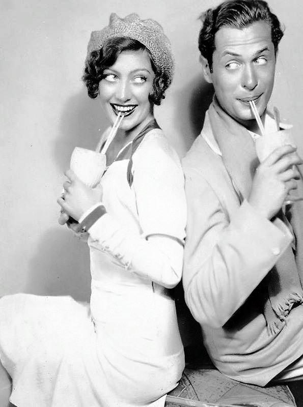 Joan Crawford & Bob Montgomery -1930.