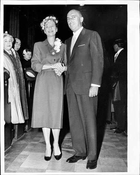 Portland Hoffa  1959 wedding to Joe Rines.
