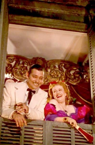 Clark Gable & Ona Munson ~Gone With the Wind(1939).