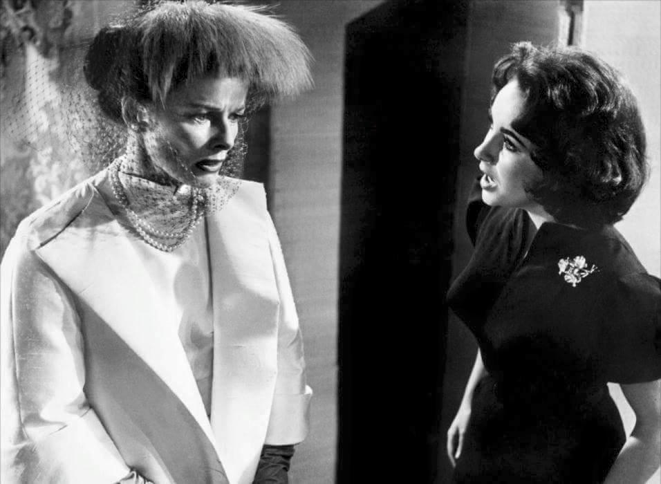 Katharine Hepburn & Elizabeth Taylor