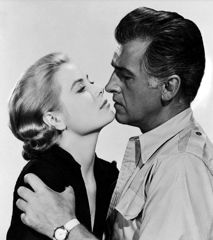 Grace Kelly and Stewart Granger