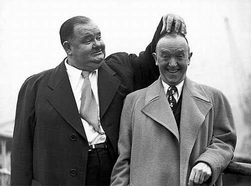 Oliver Hardy & Stan Laurel