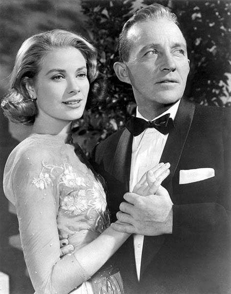 Grace Kelly and Bing Crosby