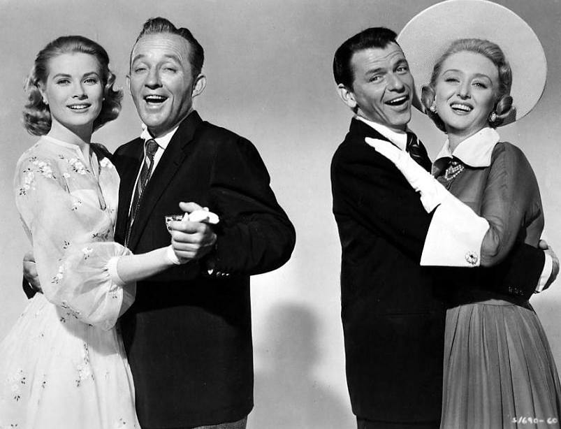 Grace Kelly, Bing Crosby, Celeste Holm and Frank Sinatra